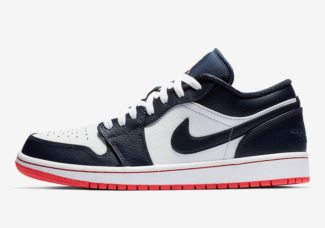 info for 70512 99927 The Air Jordan 1 Low Retro Returns In Obsidian And Ember Glow