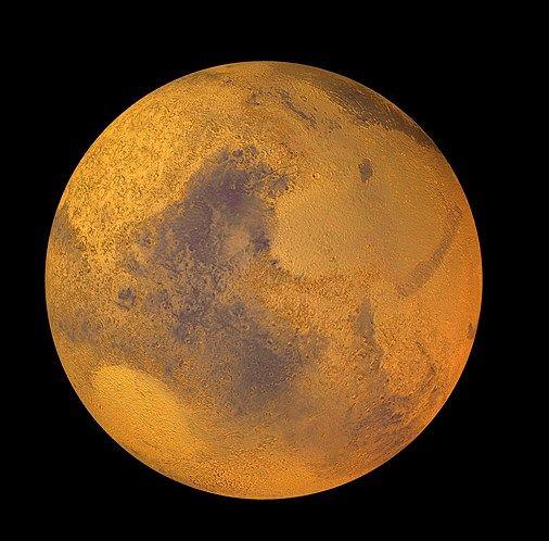 El planeta rojo (© Image Broker/Rex Features). Marte es el cuarto ...