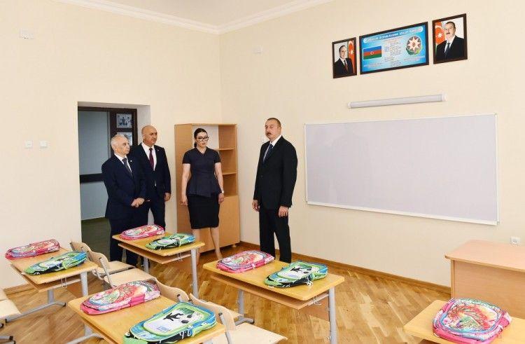Prezident Səhidin Adini Dasiyan Məktəbə Bas Cəkib Novator Az Home Decor Decor Frame