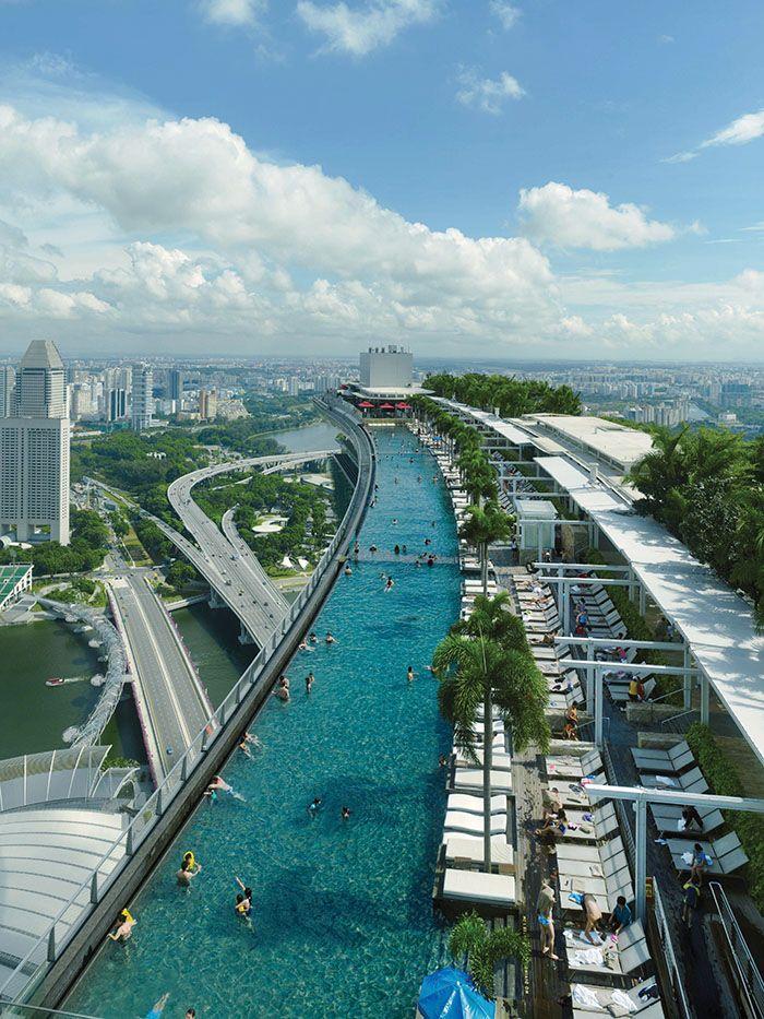 Marina Bay Sands Singapore By Moshe Safdie Sands Singapore