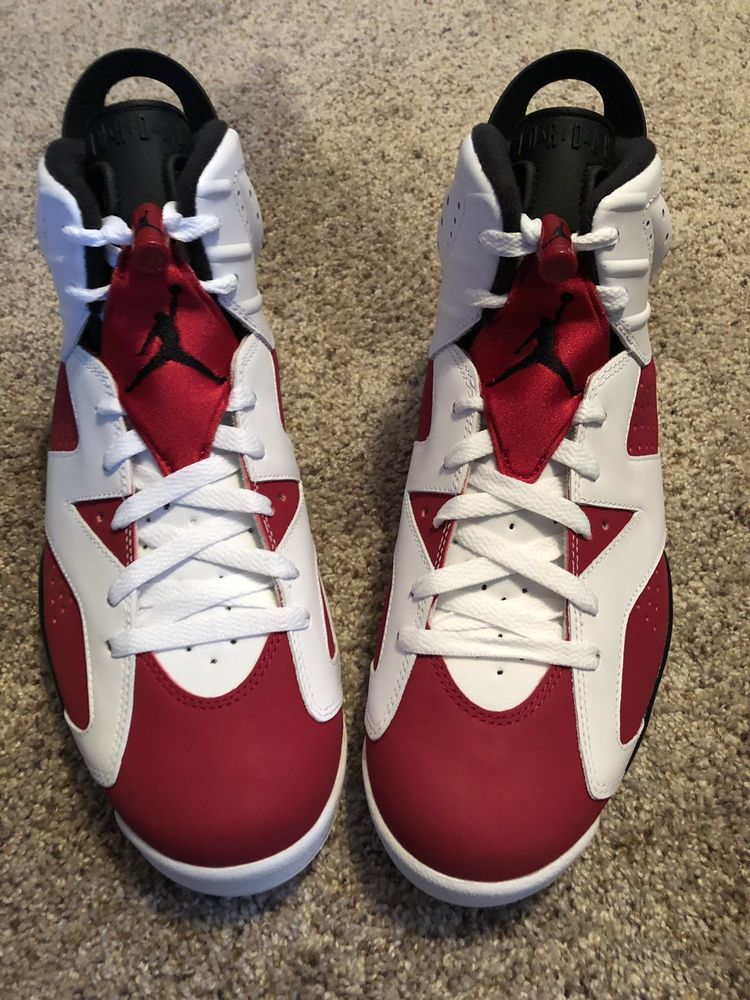 cd92b851f0b Nike Air Jordan 6 VI Retro CARMINE Red White 384664-160 Men's Size 11 DS!!!  #fashion #clothing #shoes #accessories #mensshoes #athleticshoes (ebay link)