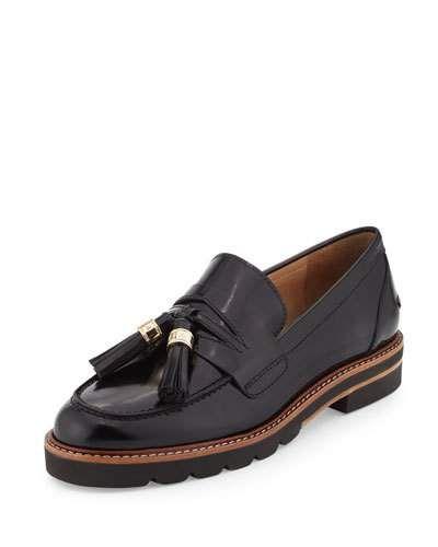8e0db127f61c X stuart weitzman manila leather tassel loafer jet black wish jpg 400x500 Stuart  weitzman shoe men
