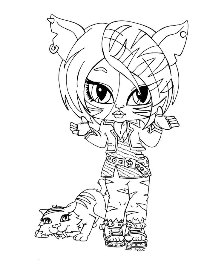monster high baby coloring pages # 27
