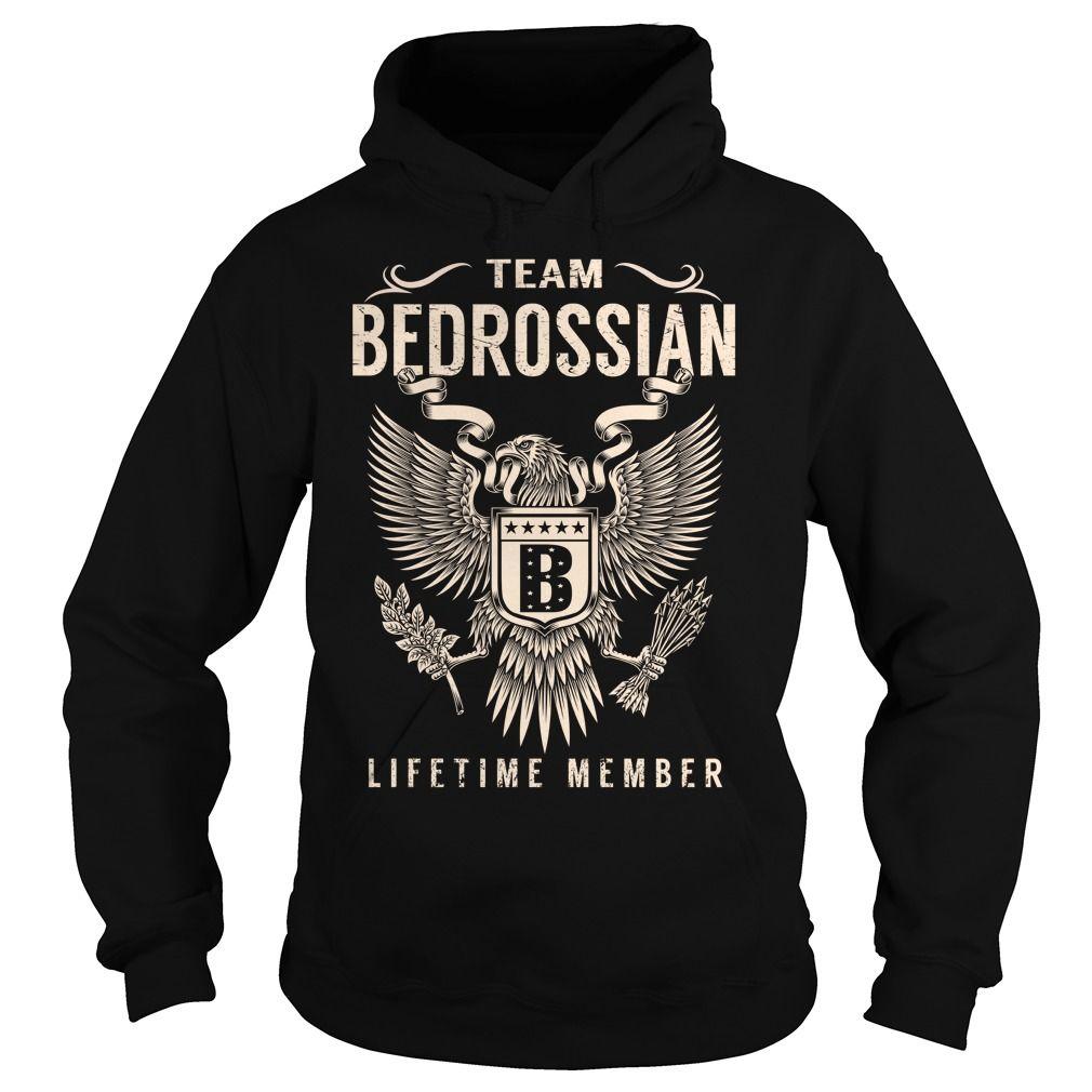 Team BEDROSSIAN Lifetime Member - Last Name, Surname T-Shirt