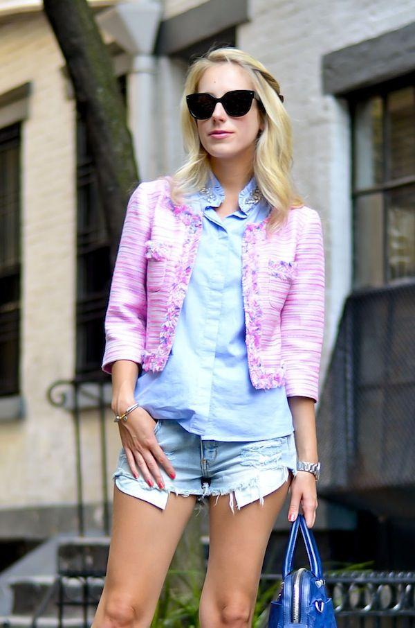 Lilly Pulitzer Tweed Jacket #summerinlilly