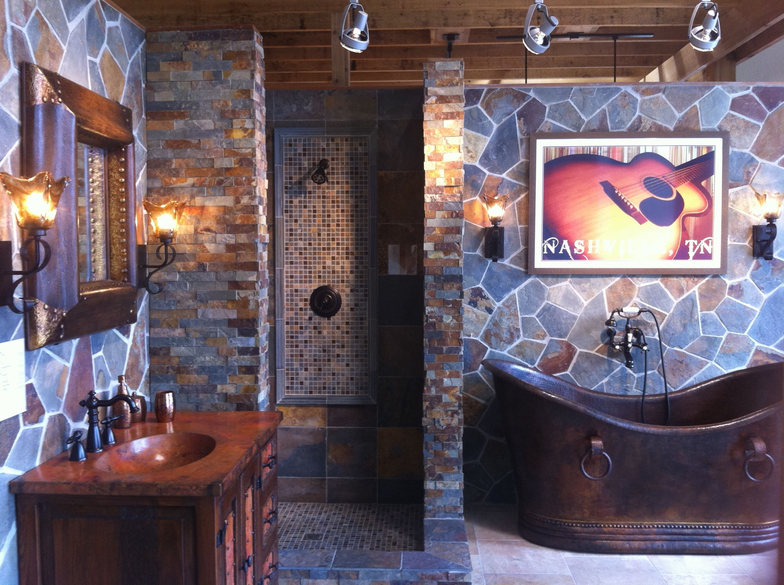 PERFECT.  Craftsman/ranch style bathroom