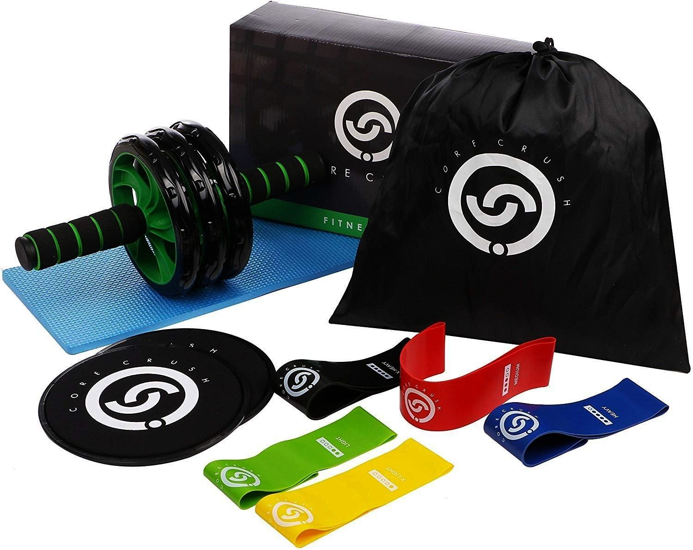#resistance #equipment #exercise #fitness #sliders #roller #carry #bands #wheel #crush #core #knee #...