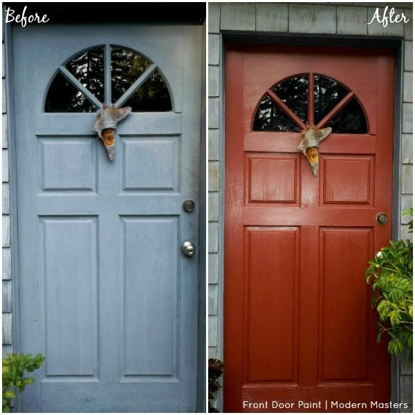 Front Door Paint Transformations With Modern Masters Painted Front Doors Front Door Colors Door Paint Colors