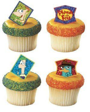 Phineas and Ferb Cupcake Ring Toppers Set of 12 by deco, http://www.amazon.com/dp/B004HATUCS/ref=cm_sw_r_pi_dp_.oy2rb1QTJAG7