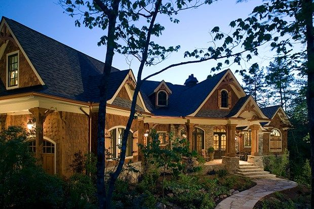 Convert A Flat Roof To A Pitch Roof Craftsman House Plans Craftsman Style House Plans Craftsman House