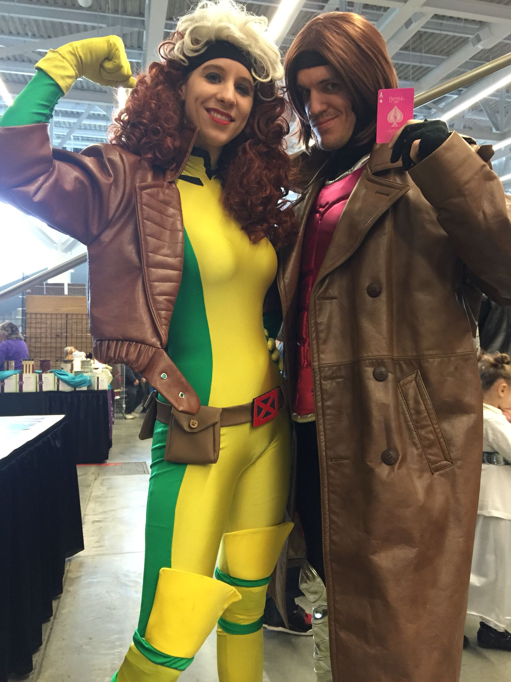 Rogue and Gambit Cosplay on the CWBT ConLife XMen