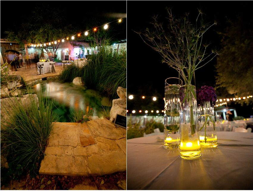 The Wildflower Center after dark |  photographer, Amelia Tarbet.