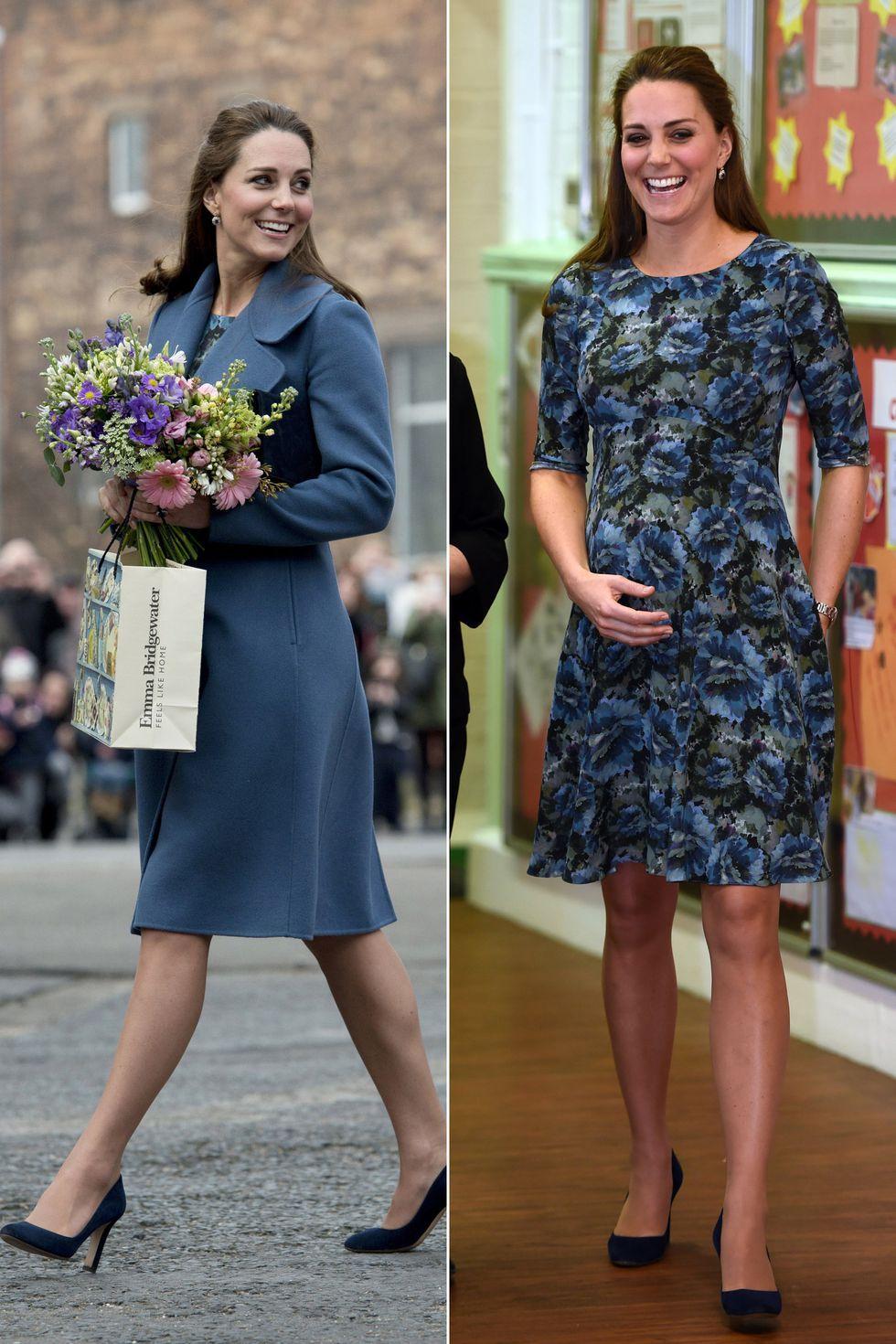 ed97f123748b87 50 of Kate Middleton's Best Maternity Looks | Duchess of Cambridge ...