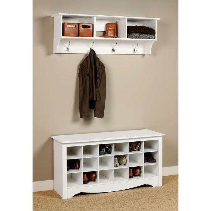 Sonoma Entryway Cubbie Wall Shelf Entryway Shoe Storage Bench With Shoe Storage Entryway Bench Storage