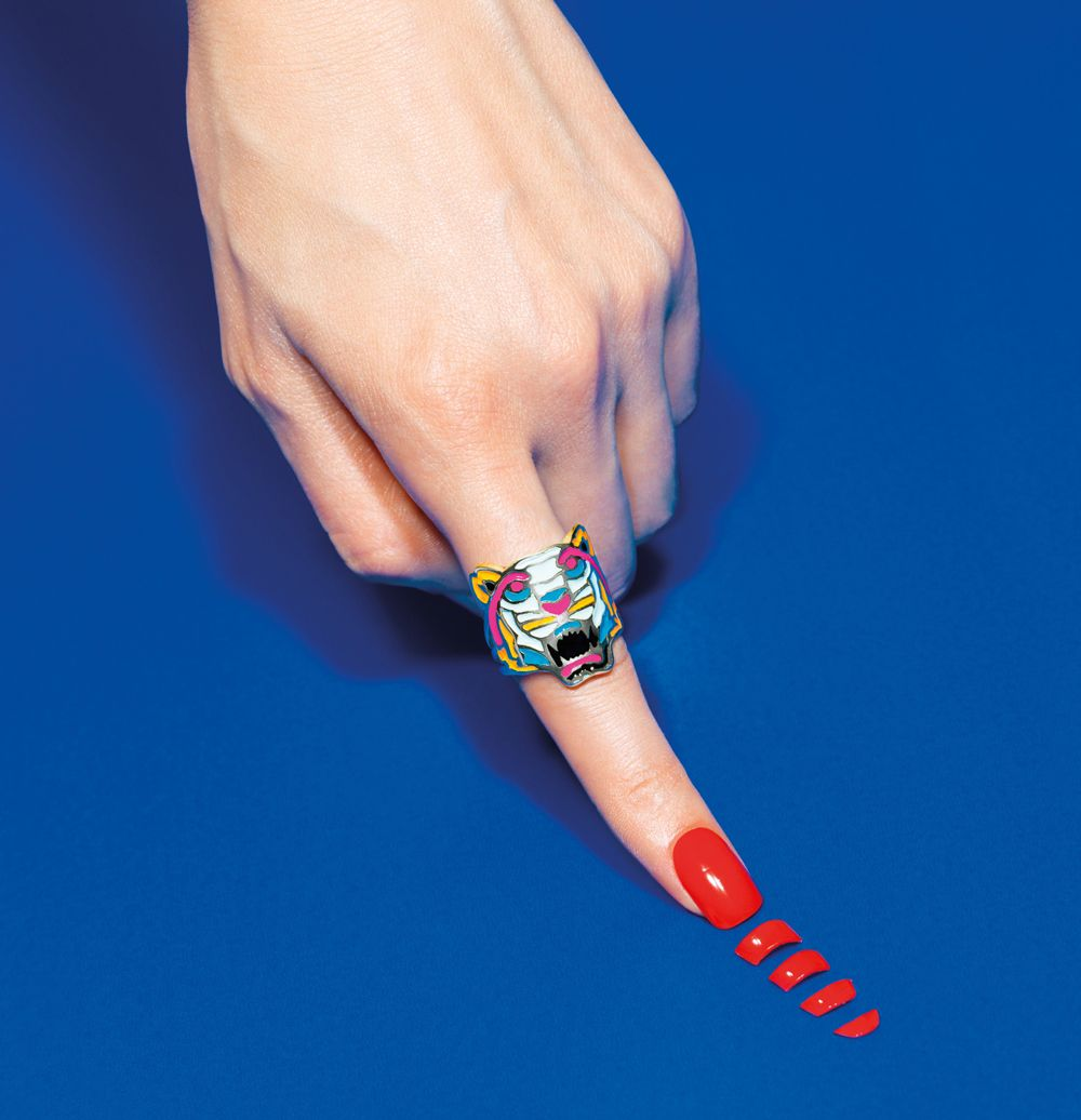 Maurizio Cattelan campaign for Kenzo. Art Experience:NYC http://www ...