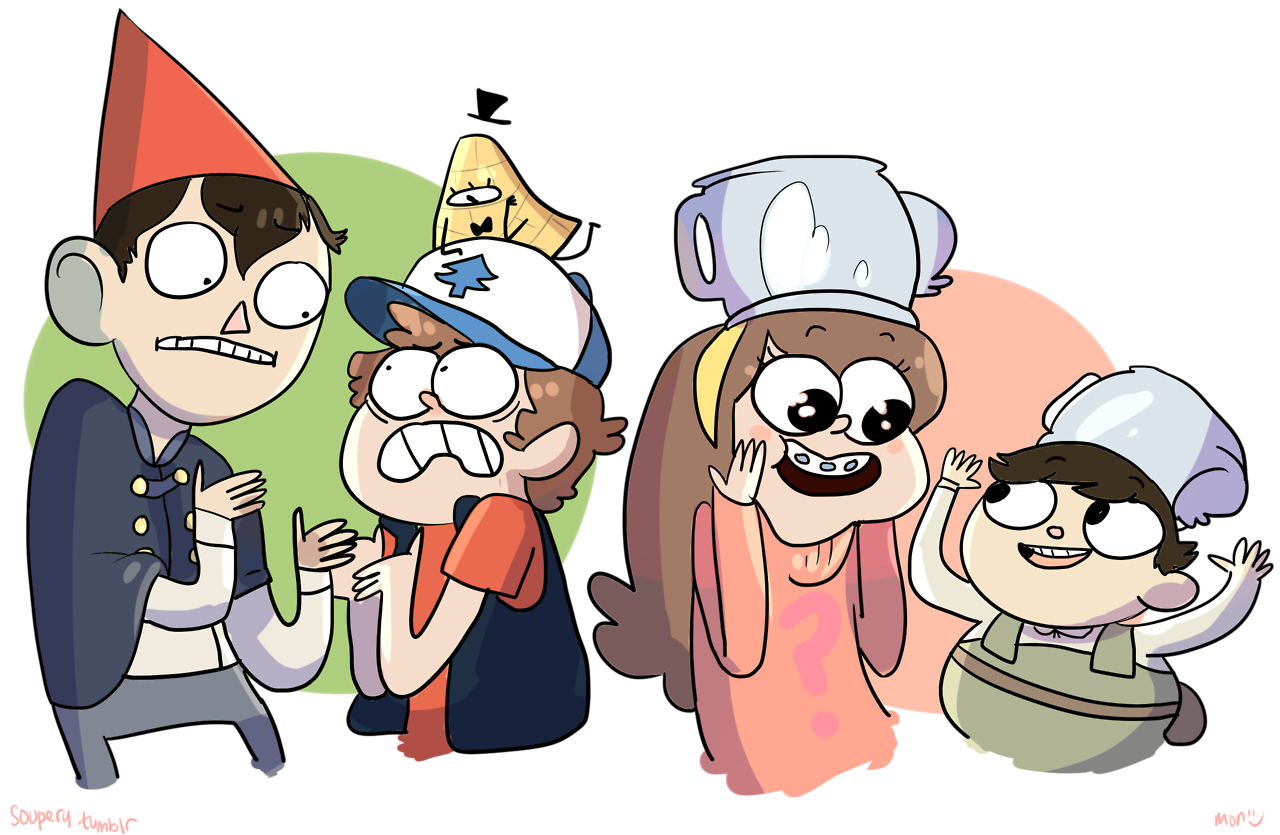 Over The Garden Wall Gravity Falls It Works It Works So Well