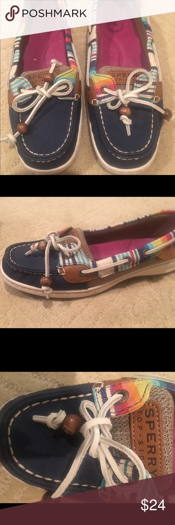 SPERRY Size 8 US Sperry Top-Sider Shoes Flats & Loafers