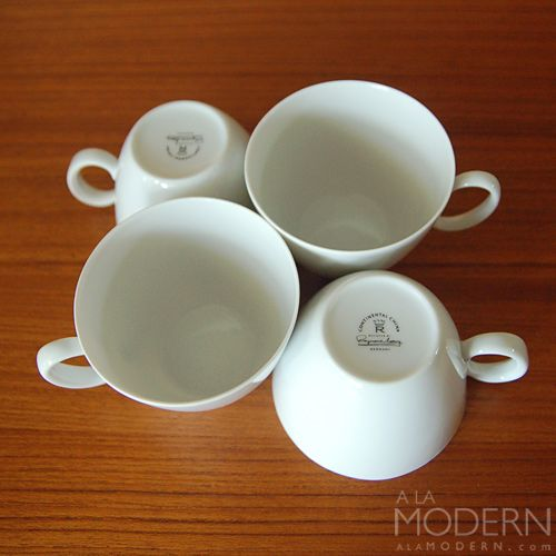 Raymond Loewy Cups : A La Modern