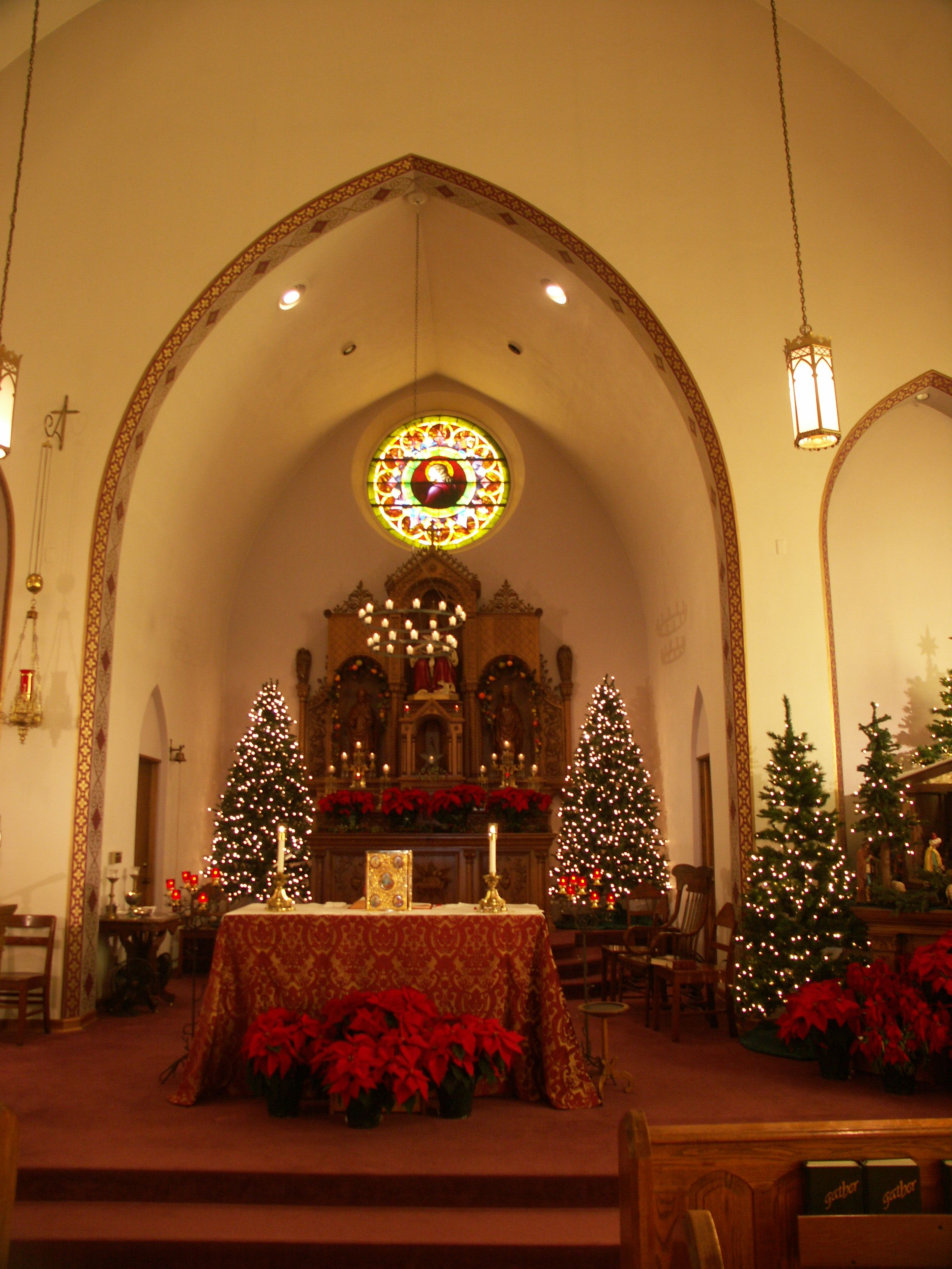 Holy Trinity at Christmas