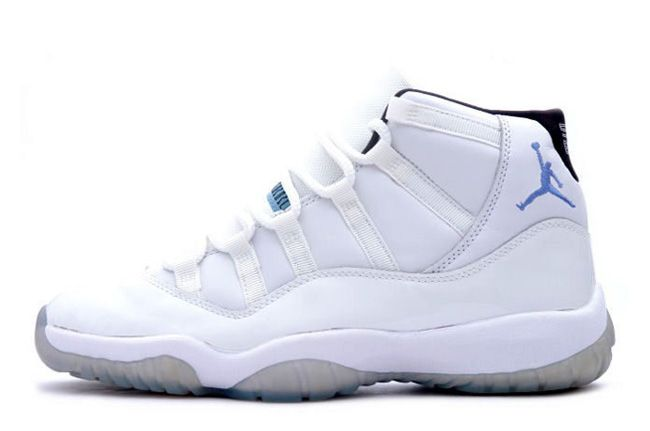 "663c3e2ca0d3e2 Girls Air Jordan 11 (XI) GS ""Legend Blue"" White Black-Legend Blue For Sale  Womens Size Staying true to its original form having a full leather base  with ..."