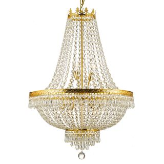 Overstock.com - Empire Crystal 9-light Chandelier - Add some classic ...
