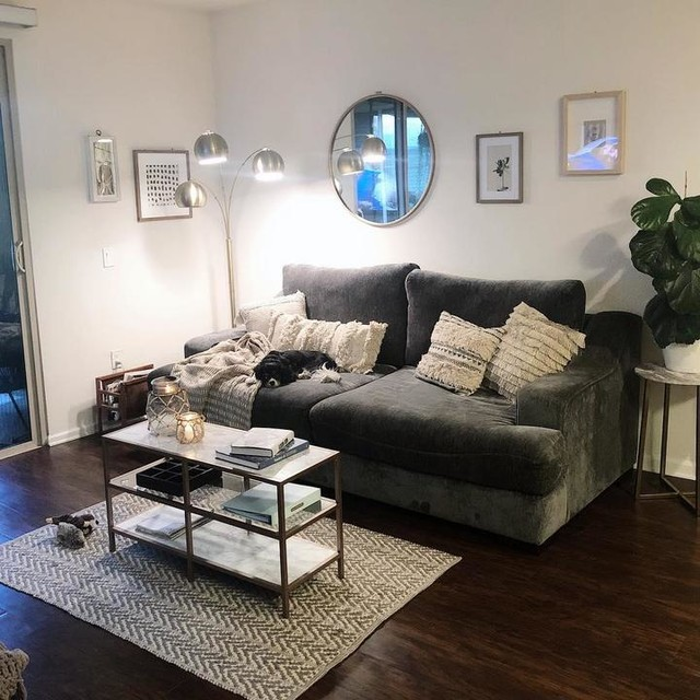 Lodge Sofa In 2020 Living Room Decor Apartment Apartment Living Room Apartment Decor