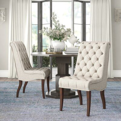 Ambella Home Collection Buttoned Up Upholstered Dining ...