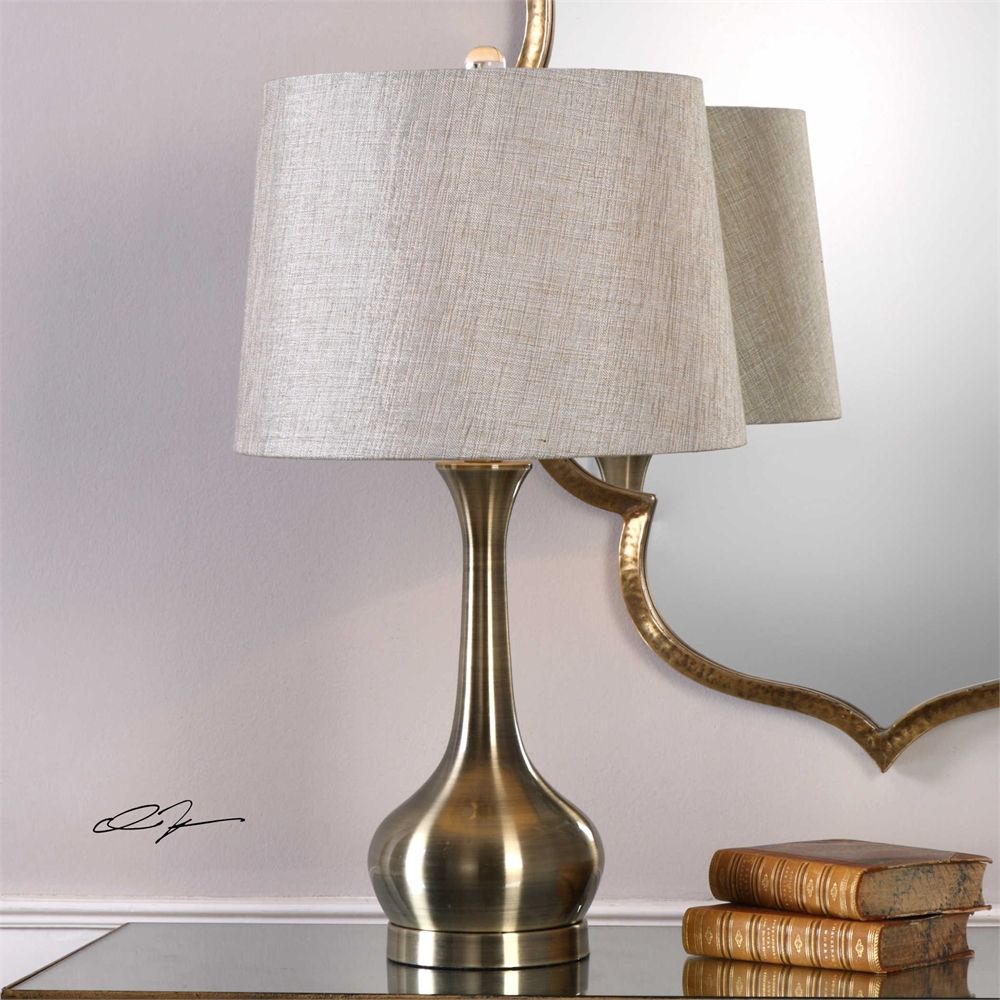 Uttermost Balle Table lamp, Bottle table lamps