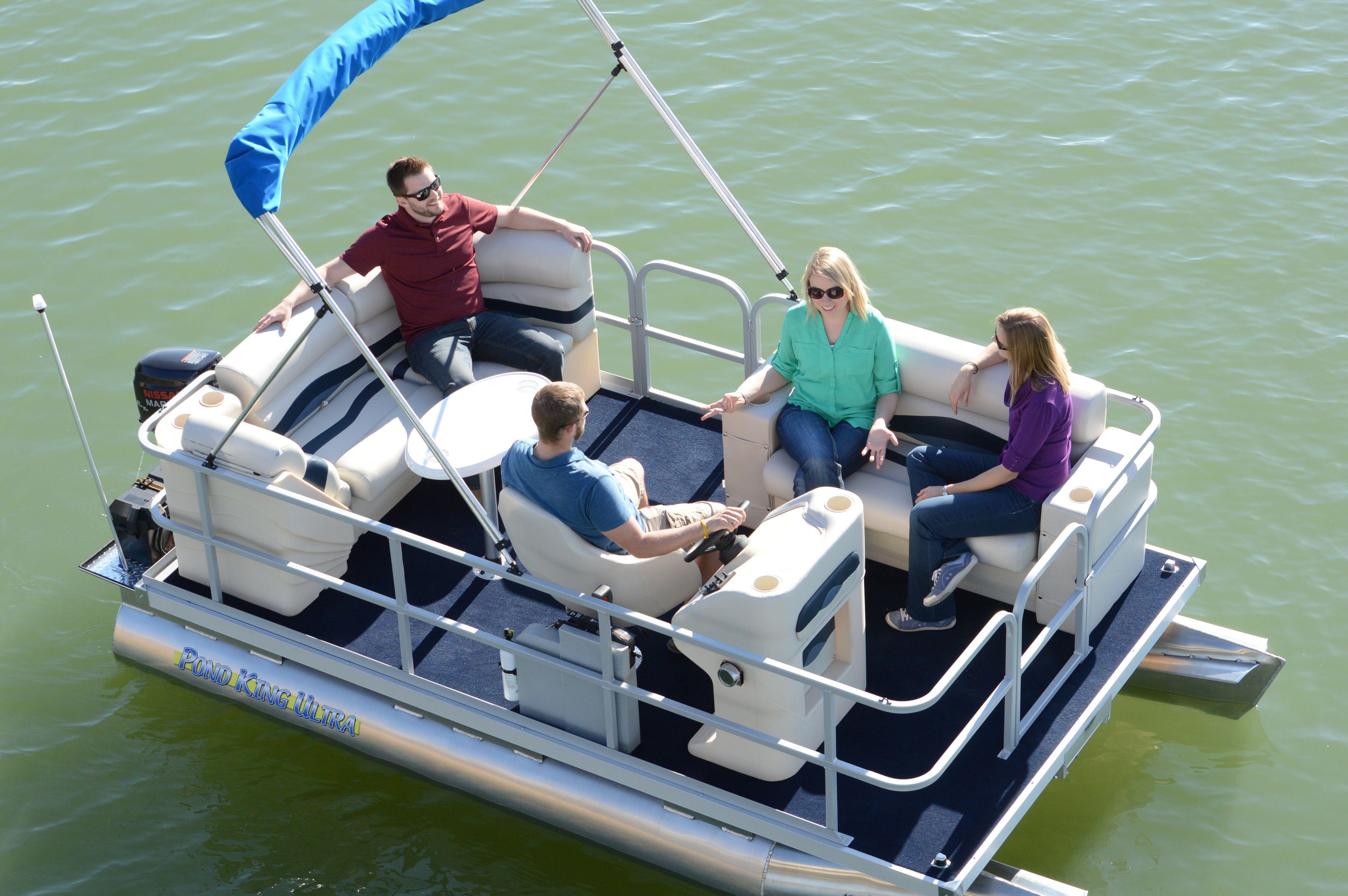 Pond Pontoon Fishing Boats