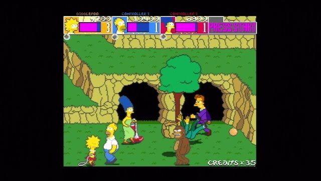 The Simpsons Arcade Game Screenshot