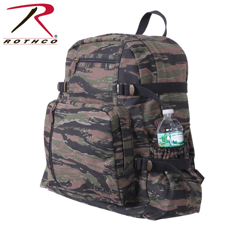f8126675c Rothco Vintage Canvas Mini Backpack- Fenix Toulouse Handball