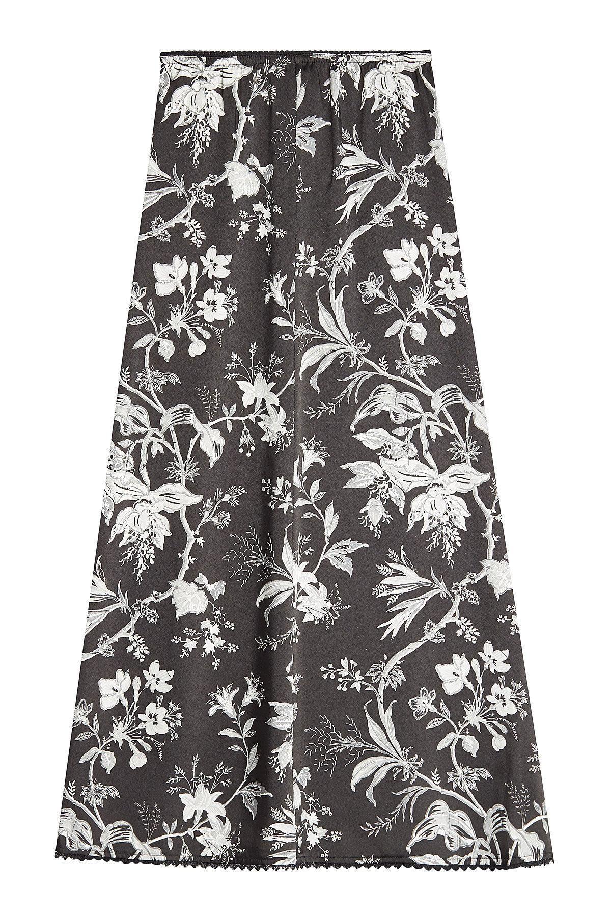 #STYLEBOP.com (DE) - #McQ Alexander McQueen McQ Alexander McQueen Midirock mit Blumen-Print - AdoreWe.com