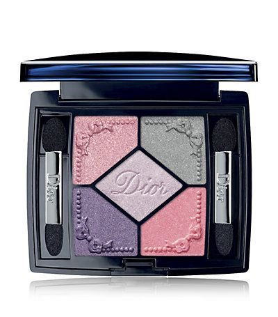 Dior 5 couleurs trianon edition pink cream grey brown colour.