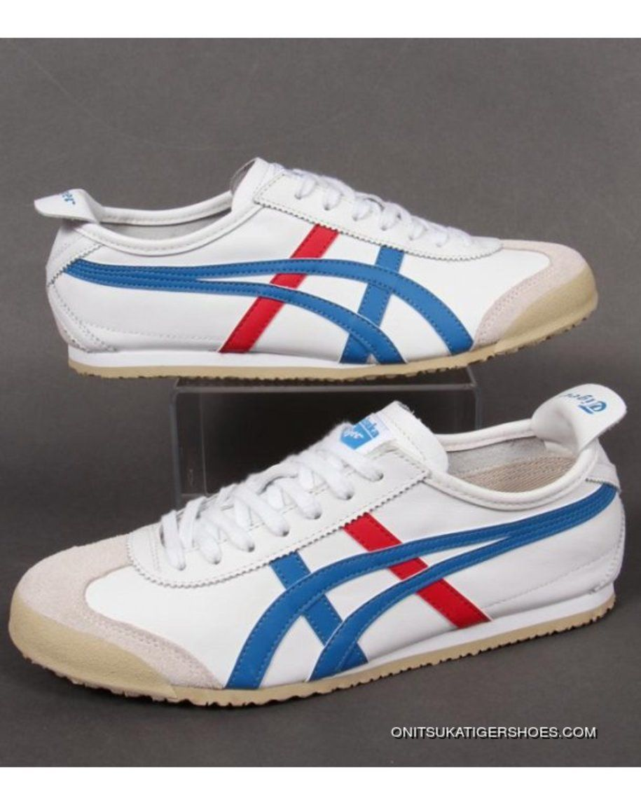 outlet store be6d0 72e0b Onitsuka Tiger MEXICO 66 Trainers Whiteblue Z64QNT4 Best in ...