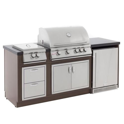 Enjoying Outdoor Kitchen Grilling And Entertaining Has Never Been Easier Than With The B Outdoor Kitchen Island Outdoor Kitchen Countertops Kitchen Countertops