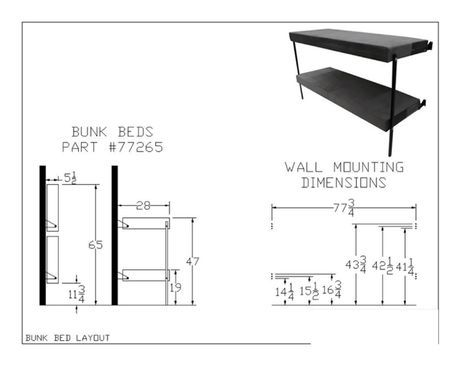 Folding Bunk Bed 77265 350 Lbs Weight Capacity Per Sleep Surface Mattress Included Rollaway Beds Shipped Within 24 Hours Bunk Beds Bunk Beds With Stairs Kids Bunk Beds