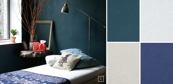 Bedroom Color Ideas: Paint Schemes and Palette Mood Board