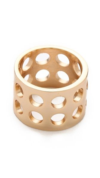 Kelly Wearstler Perforated Ring.