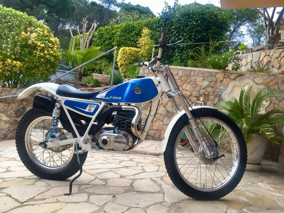 Pin By Luisma On Trials Vintage Motocross Trial Bike Bultaco Motorcycles