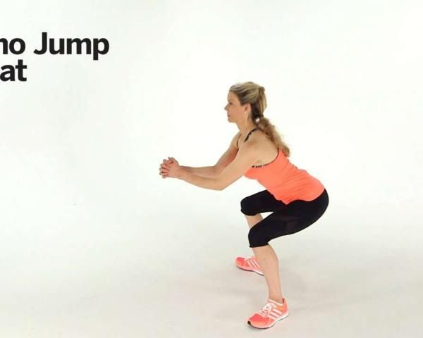 Boost your heart rate and up your burn with plyometrics, or jump-training. In this video, fitness expert Kristin McGee demonstrates a move you can do anywhere, no equipment necessary.