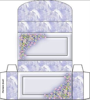 Blue Butterfly: To Mount Boxes