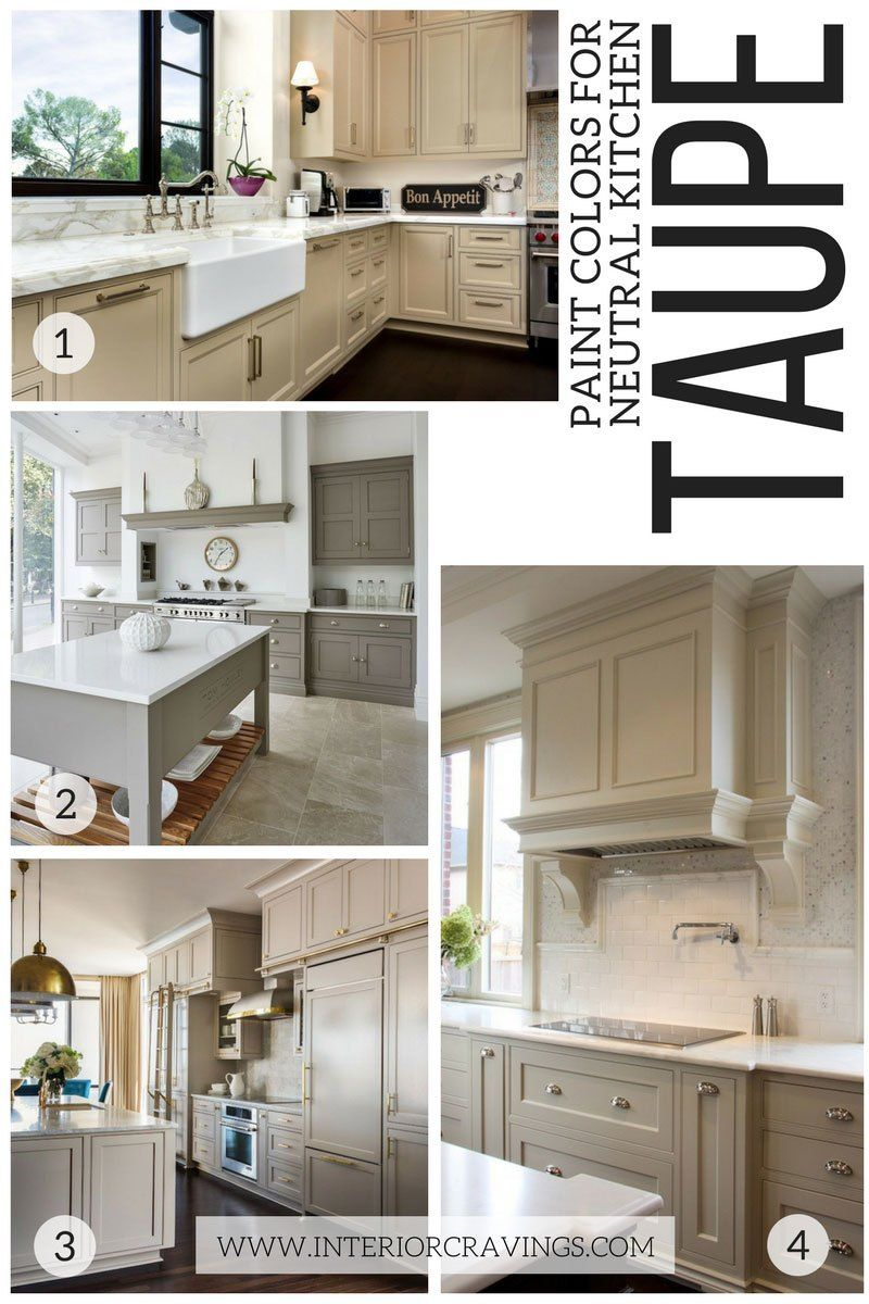 24 MODERN NEUTRAL PAINT COLORS FOR YOUR KITCHEN REMODEL ...
