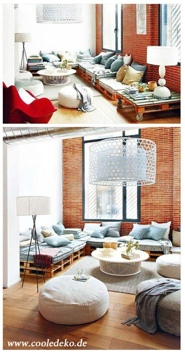 Möbel-aus-Europaletten-cool | Living | Pinterest | Möbel aus ...
