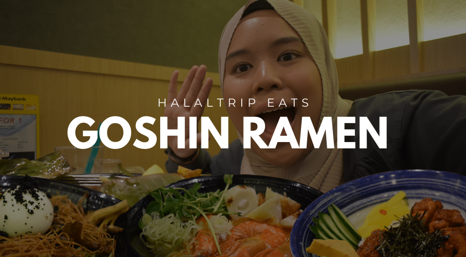 We Tried Goshin Ramen And Here S What We Think Halaltrip Eats In 2020 Halal Recipes Eat Food Spot