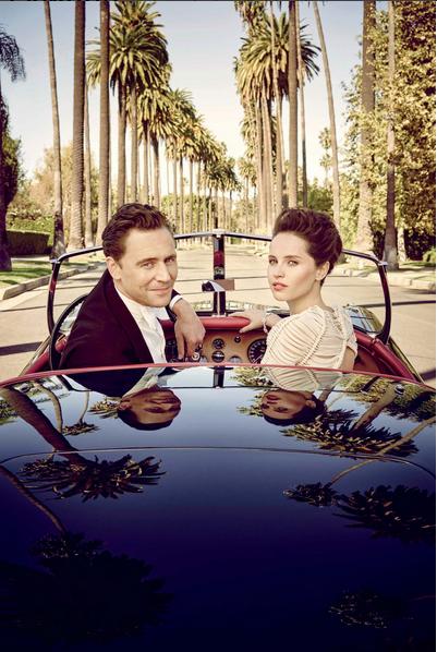 Tom Hiddleston and Felicity Jones for Vanity Fair