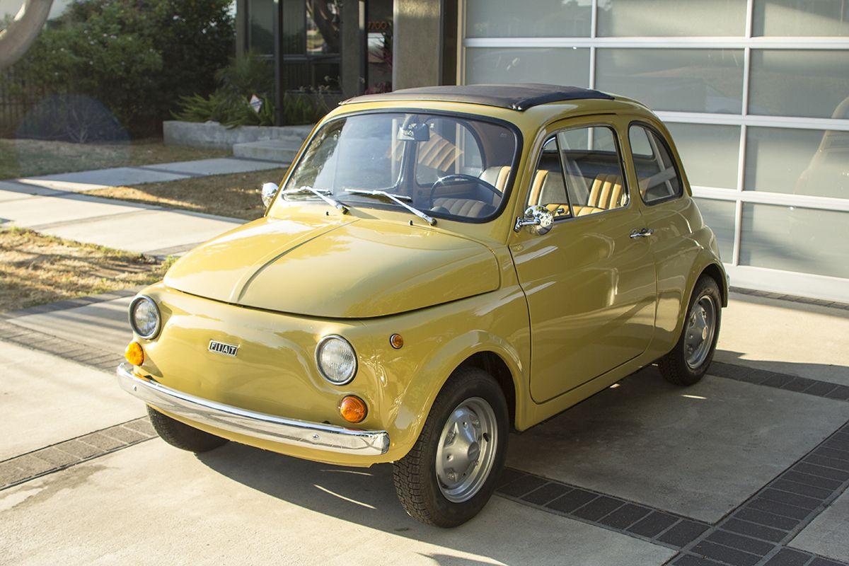1972 Fiat 500r Fiat Fiat 500 Small Cars