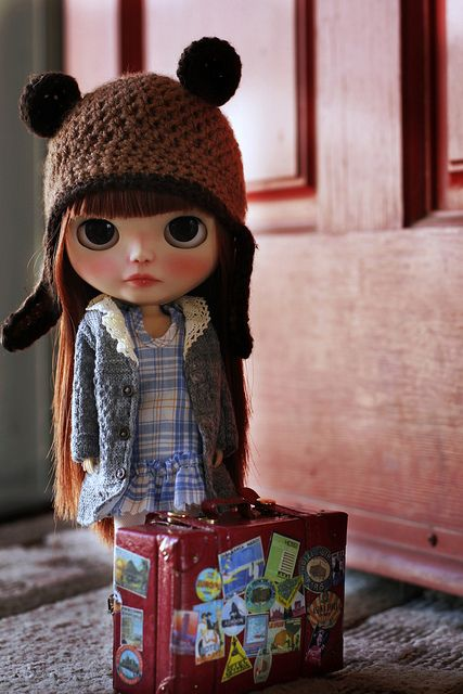 Our tiny visitor is here! She's adorable! by Voodoolady ♎, via Flickr