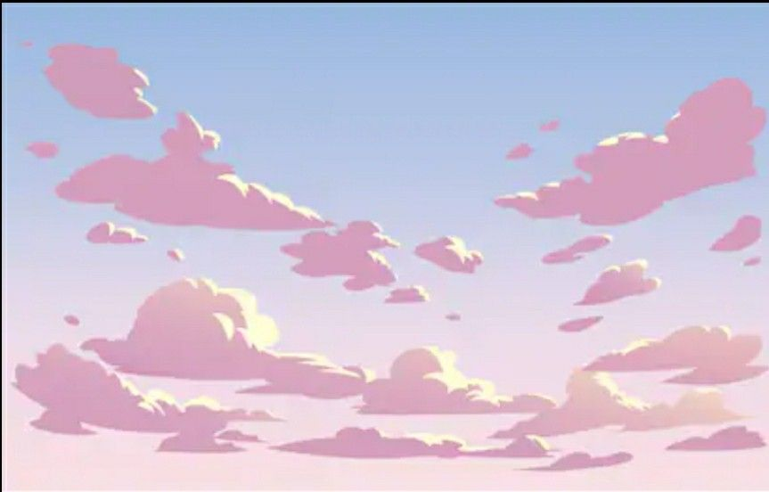 Pin By Khanyi On My Pins In 2020 Sky Anime Cloud Illustration Anime Background