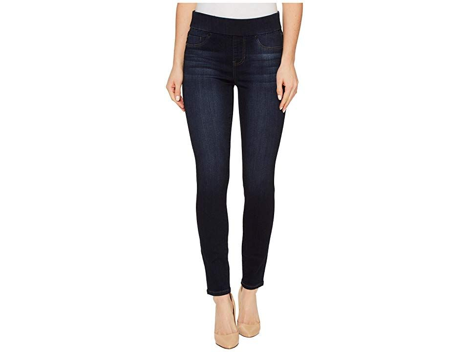 Liverpool Sienna PullOn Ankle in Silky Soft Denim in Dynasty Dark Dynasty Dark Womens Jeans Create the perfect look sporting innovative Liverpool Jeans Company clothes Th...