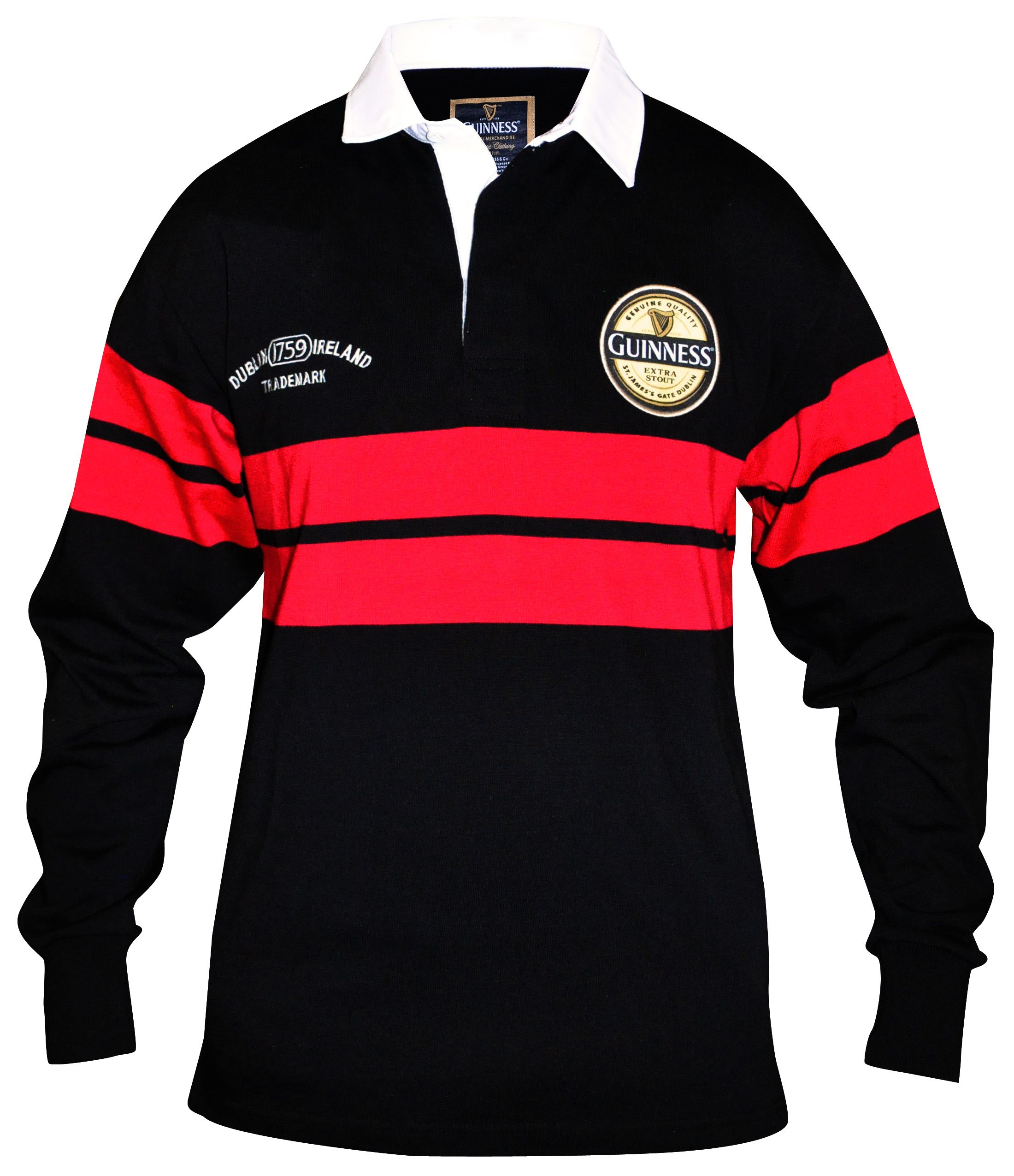 Guinness Black Red Rugby Jersey Rugby Jersey Rugby Shirt